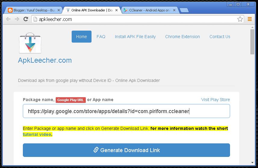 Cara Mudah Mengunduh File APK Google Play Langsung Melalui PC