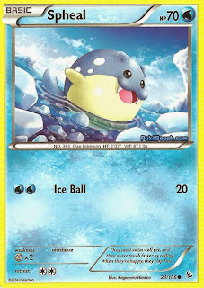 Spheal Flashfire Pokemon Card