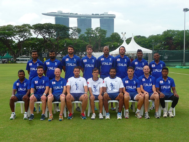 Nazionale maschile alla World Cricket League 4 - Singapore 2014