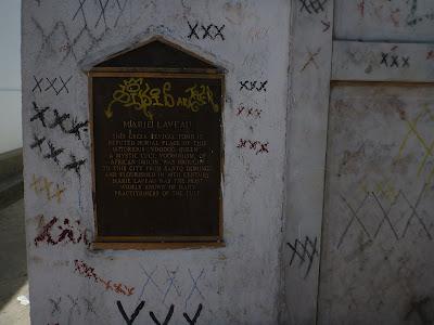 Marie Laveau Tomb Plaque