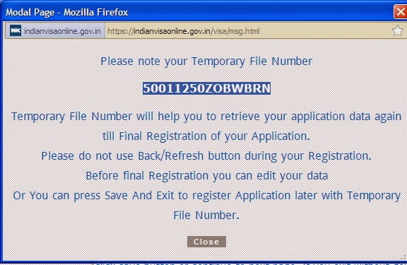 indian visa form fillup instruction