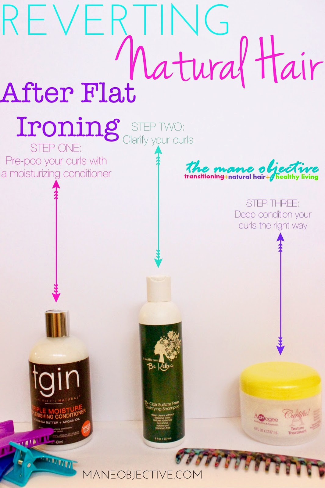 Revert Your Curls After Flat Ironing in 3 Easy Steps