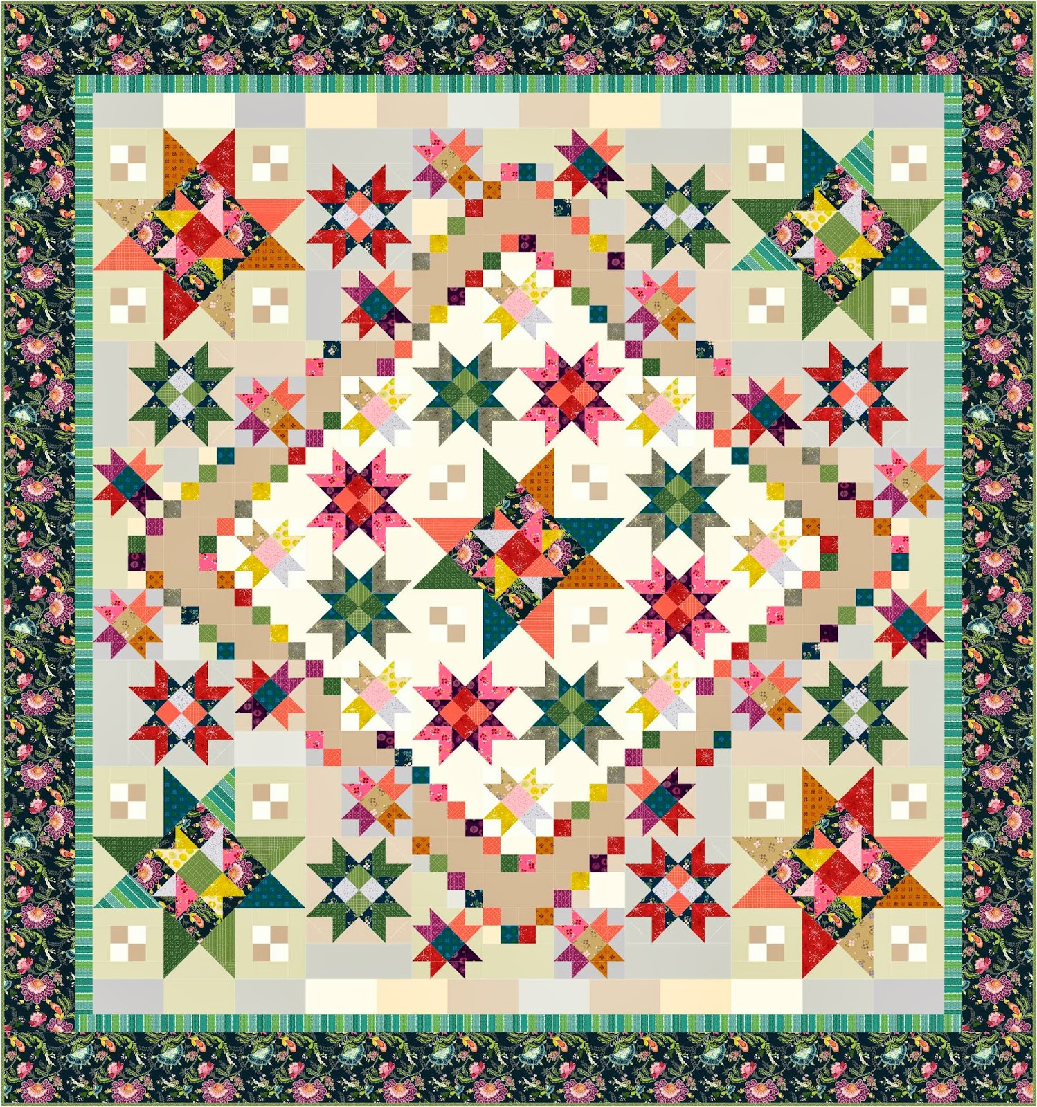 The Quilting Loft Block Of The Month Quilts