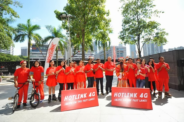 Hotlink 4G Launch Event