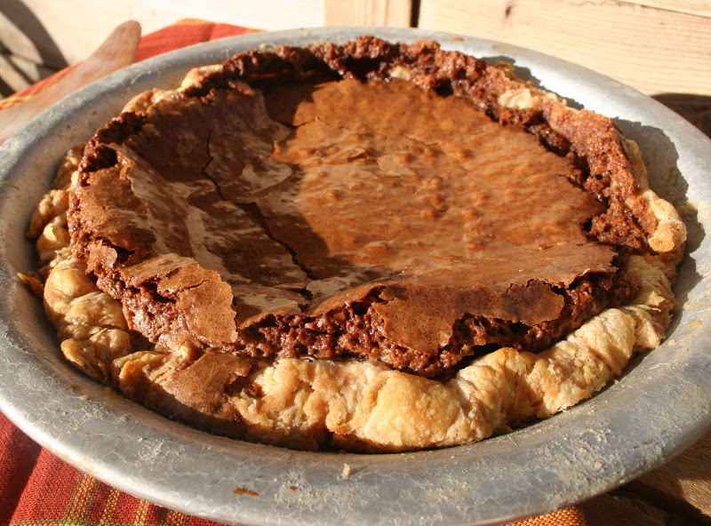 Chocolate Chess Pie | Nothing in the House