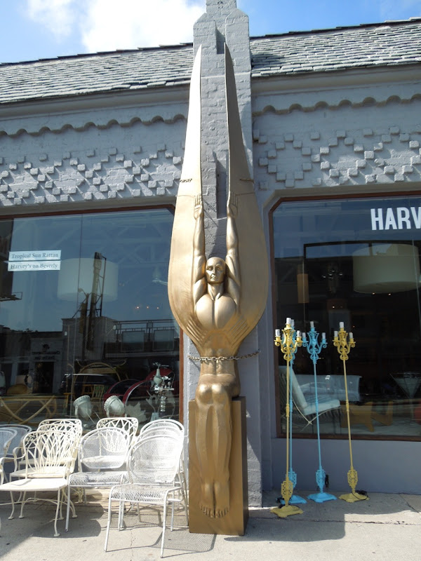 Harveys Art Deco angel Beverly