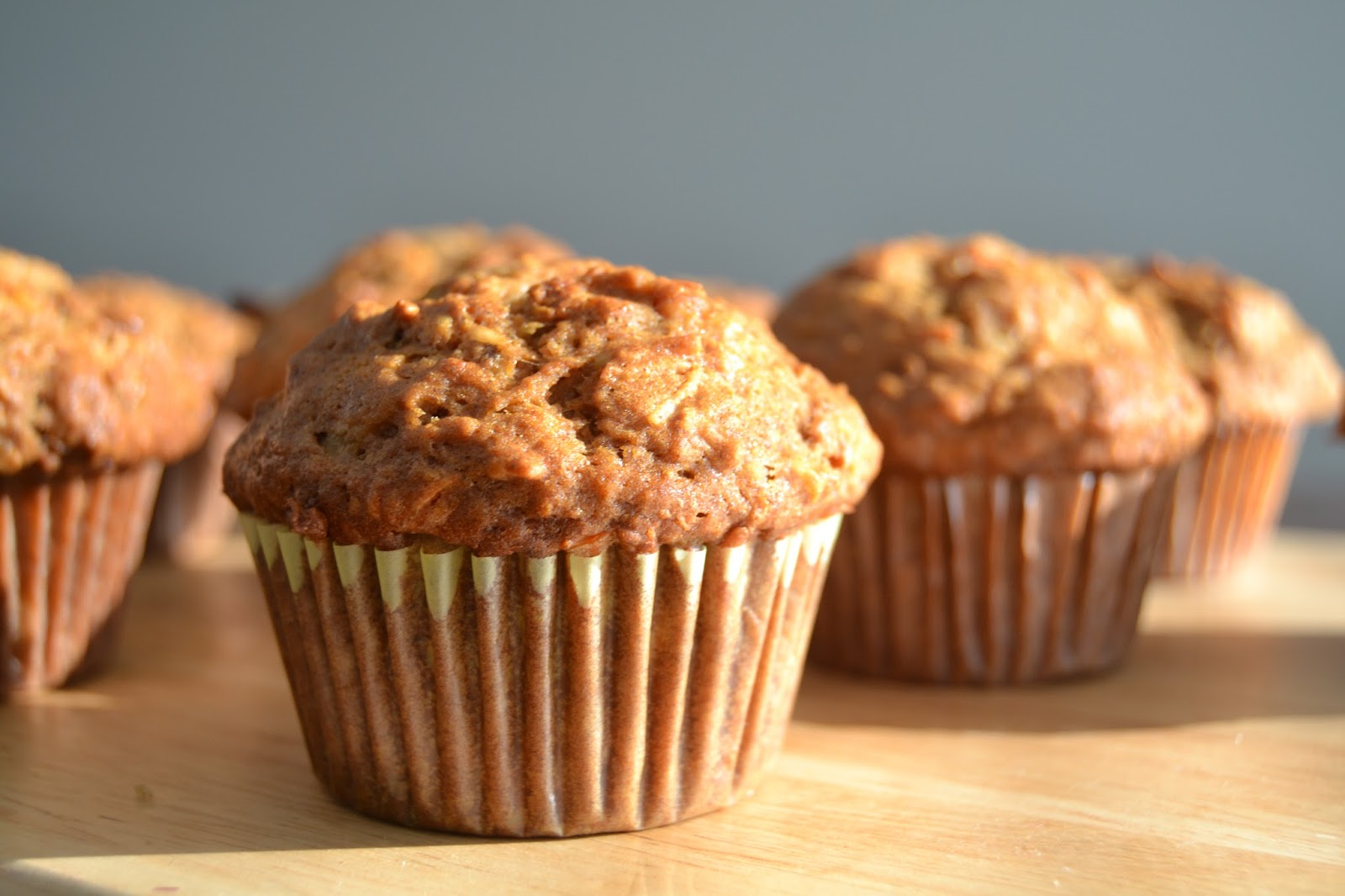 From Foothills to Fog: Morning Glory Muffins