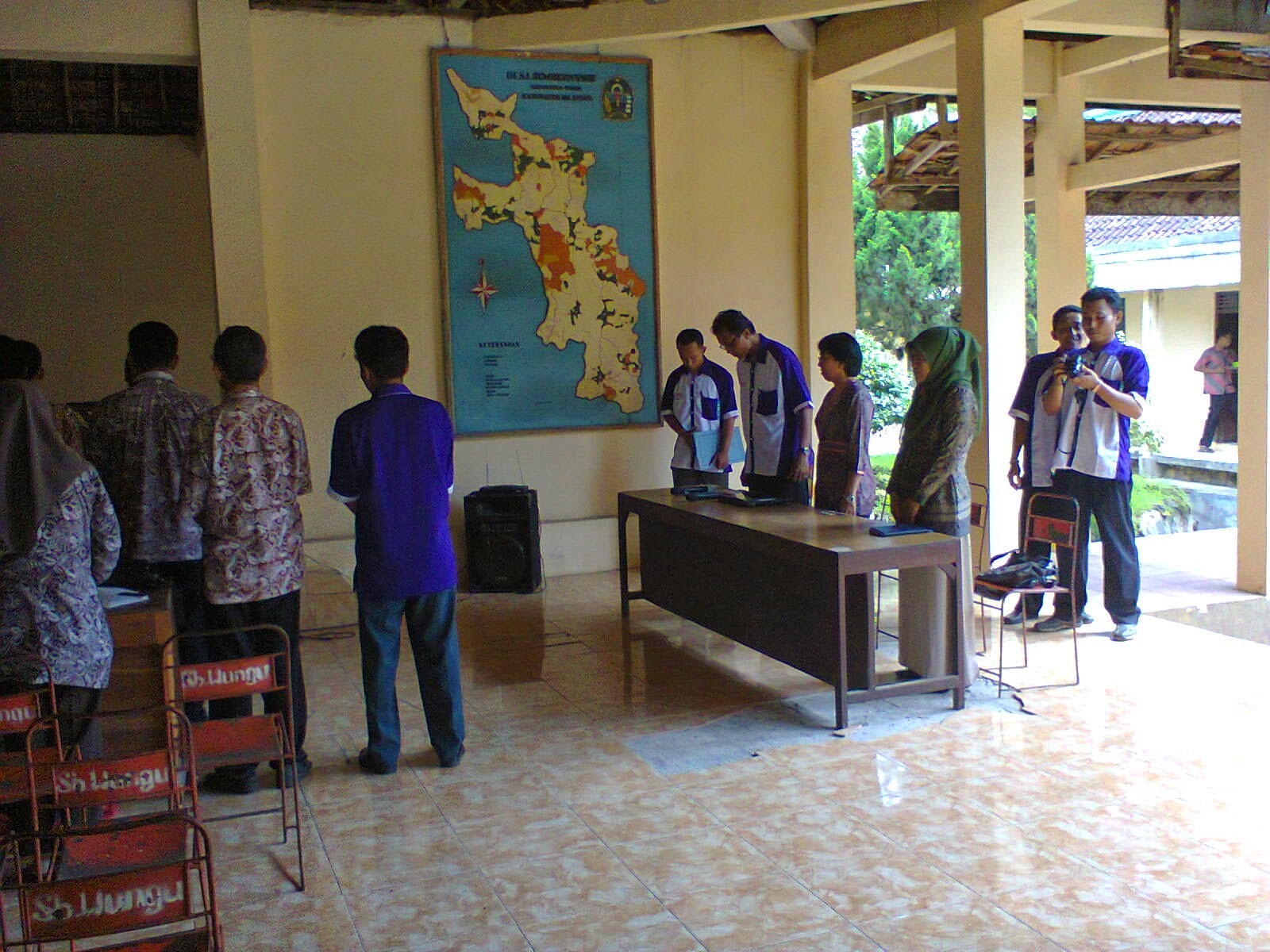 Pelantikan KPPS Desa Sumberwungu