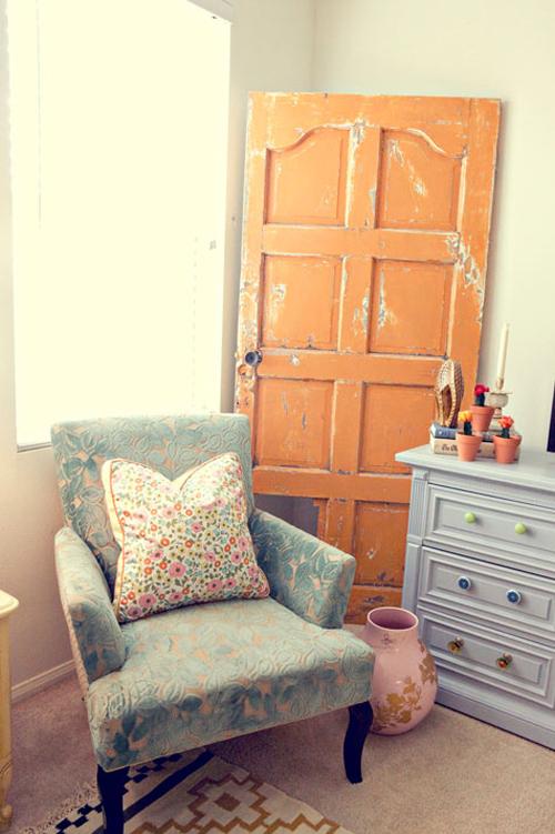 Dishfunctional Designs: New Takes On Old Doors: Salvaged Doors ...