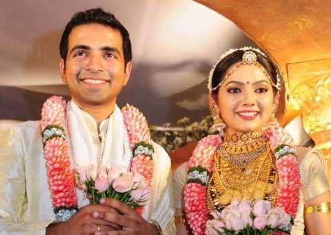 ACTRESS SAMVRUTHA SUNIL WEDDING PHOTOS
