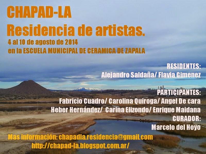 CHAPAD-LA. RESIDENCIA DE ARTISTAS
