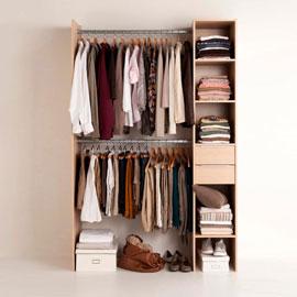 pas que pour les filles fabriquer son dressing v tements et chaussures. Black Bedroom Furniture Sets. Home Design Ideas