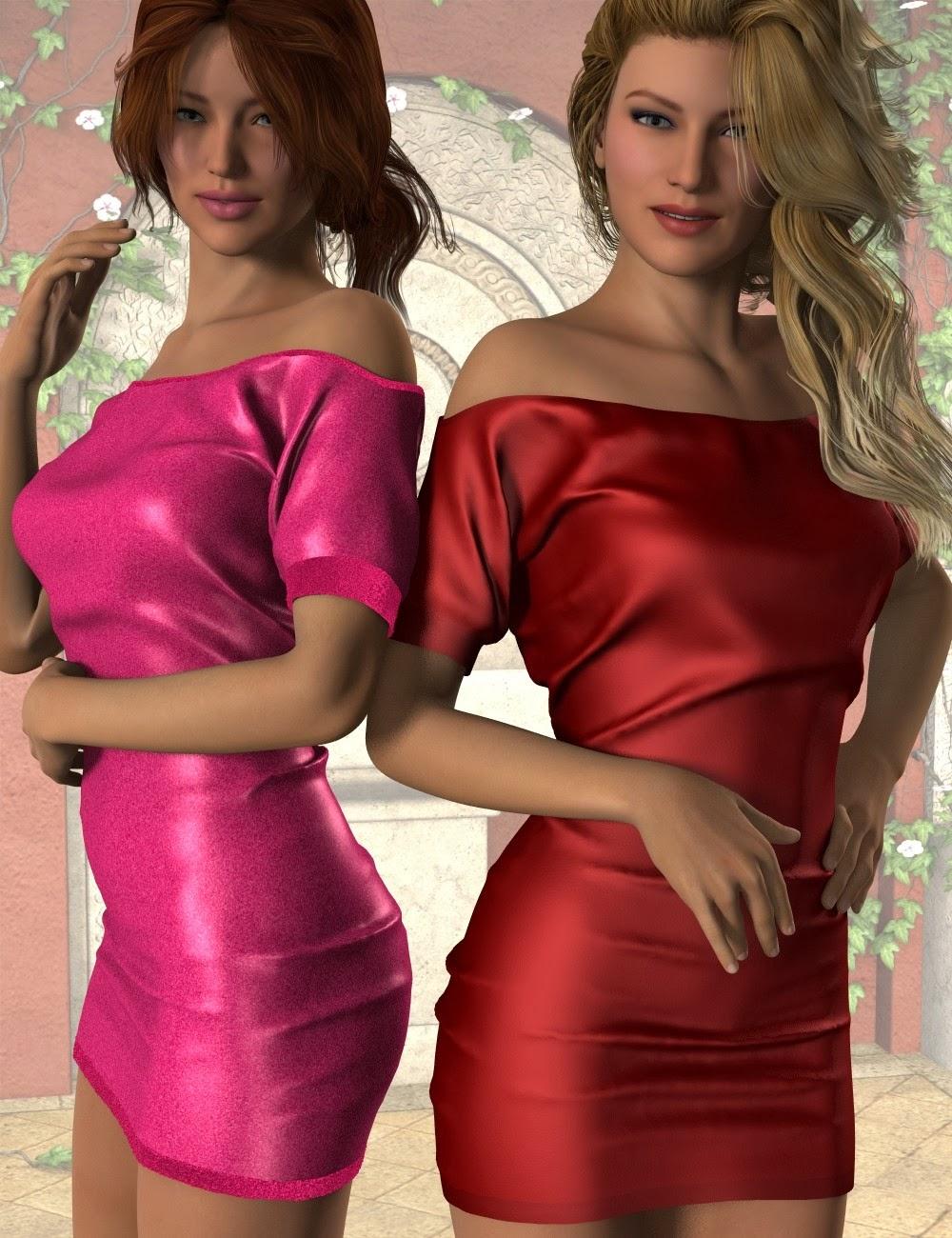 Mini-robe à manches courtes pour Genèse 2 Femme