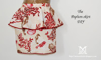 diy, fashion DIY,  skirt diy, gonna tulipano, volant,cucire,cloth diy, peplum skirt diy,  how to, tutorial, peplum skirt, s/s 2012, spring summer 2012,sew