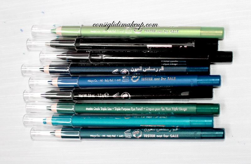 nuove colorazioni 2014 matite pupa milano
