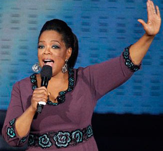Oprah+Winfrey Celebrity May 2011 Quotes