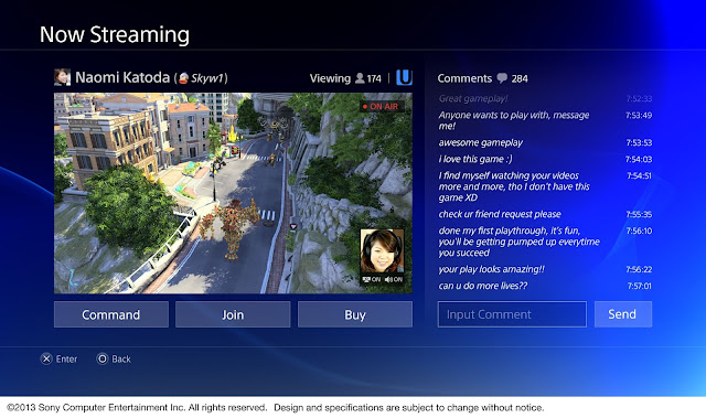 صور الواجهة الجديدة للبلاي ستيشن 4 | The PlayStation 4 interface