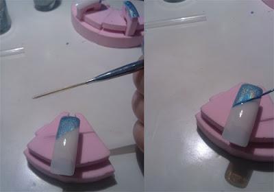 tutorial nail art effetto marmo02