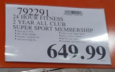 Deal for a 24 Hour Fitness 2-year All Club Super Sport Membership at Costco