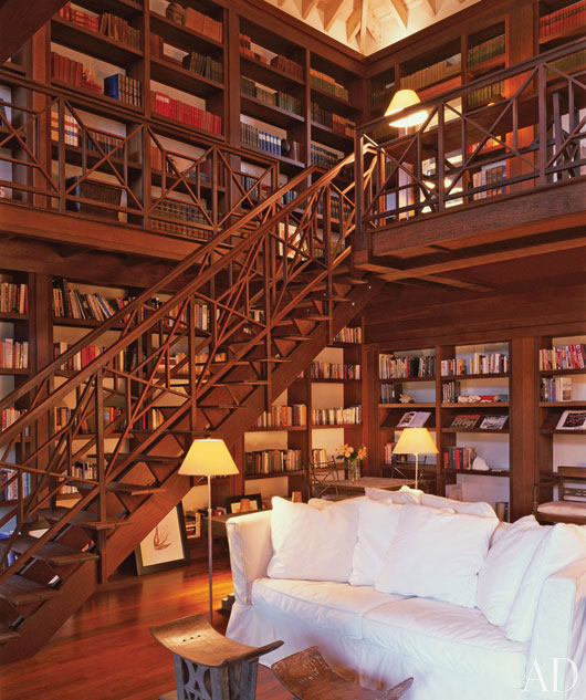 beautiful and inspiring home libraries modern diy art designs