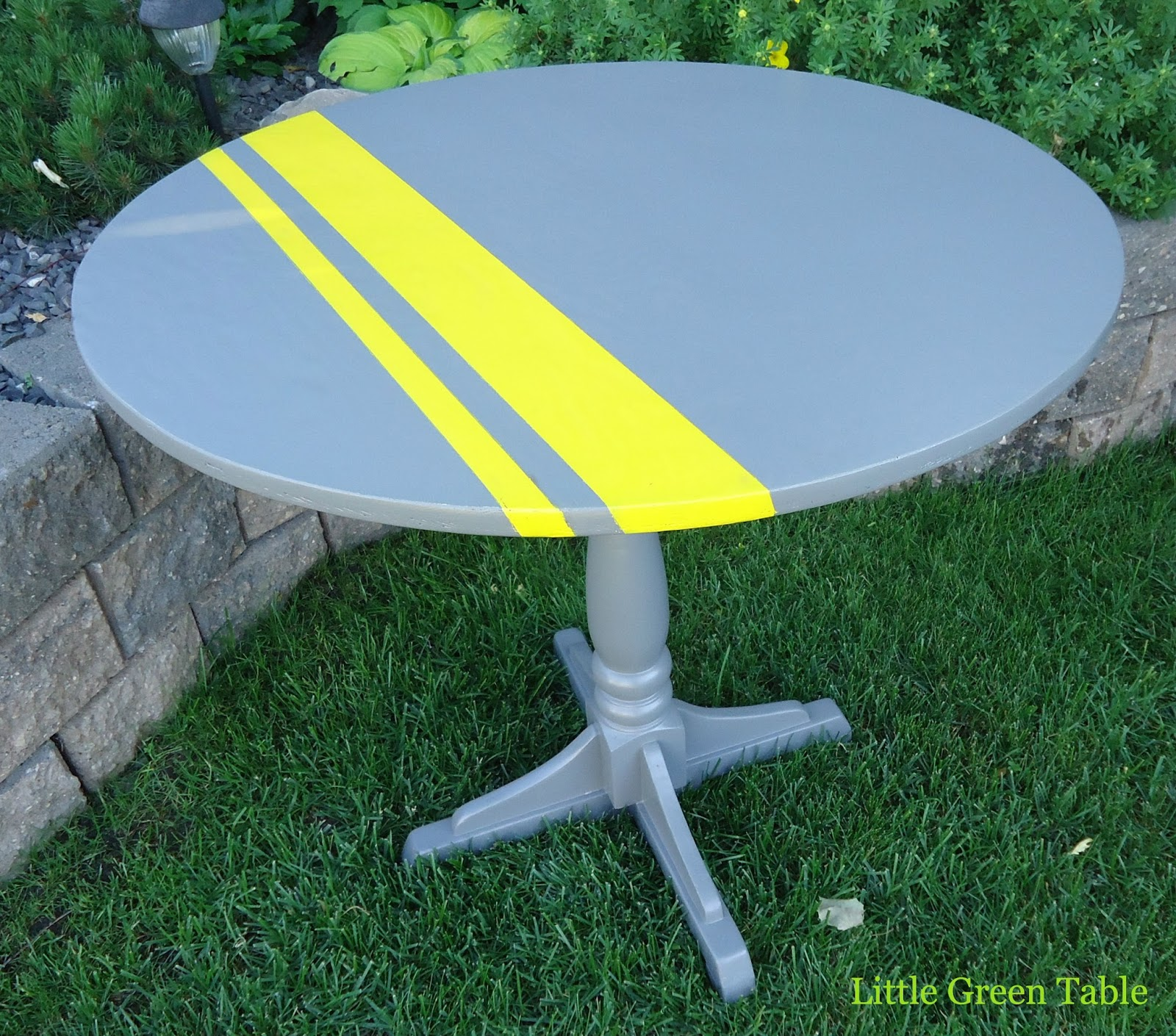 Grey and Yellow Dining Set Little Green Table : Greyyellowdiningset table from littlegreentable.blogspot.com size 1600 x 1410 jpeg 553kB