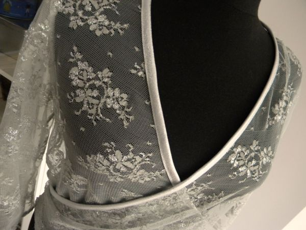 fashion design lace wrap