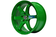 Volk racing te37sl Takata green-Replica