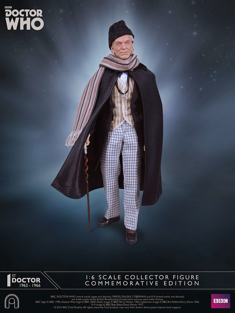 The costume has been carefully recreated and is an incredible match to the clothes worn by Hartnell in his early seasons.  sc 1 st  batmanmarchu0027s Action Figure Reviews & batmanmarchu0027s Action Figure Reviews: 1:6 Scale First Doctor ...