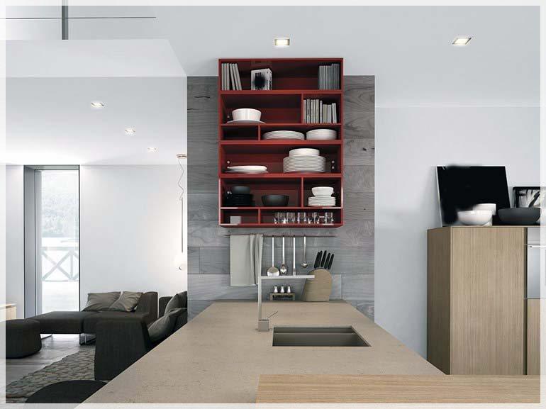 Minimalistisk kjøkken design - interiør inspirasjon