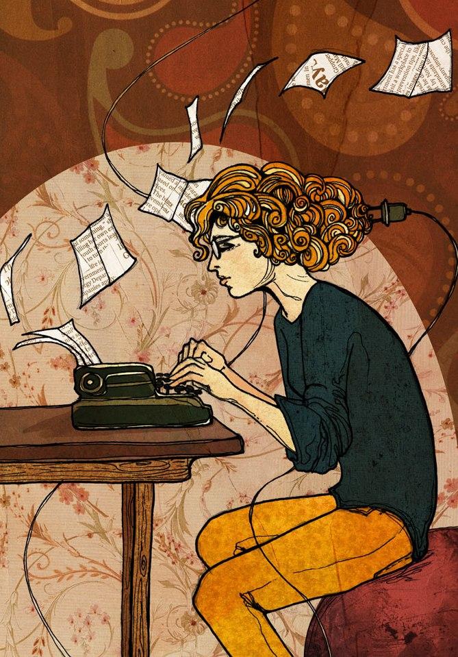 ik schrijf over van alles
