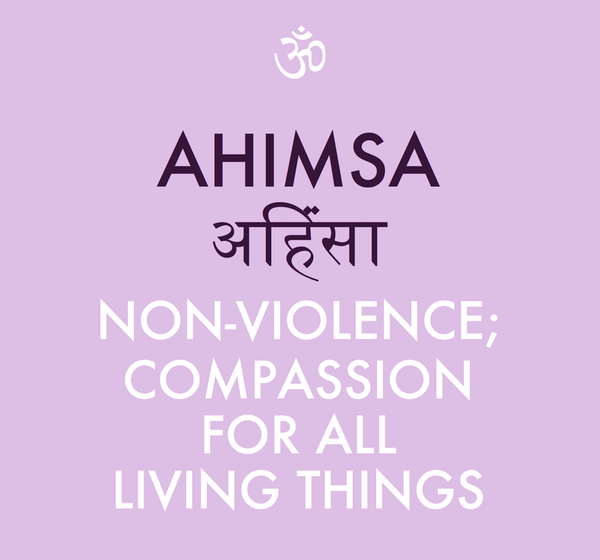 an introduction to the ahimsa a state of being in indian culture
