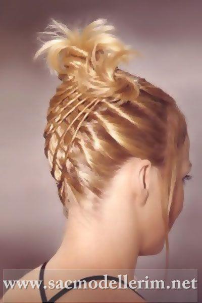 прически для густых волос видео