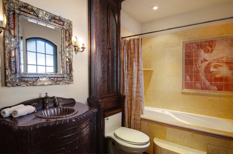 Old World Gothic Bathroom Brooklyn New York Victorian Brownstone Interior