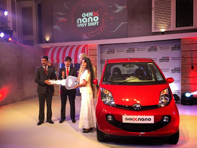 Tata Motors Nano Genx Launching Ceremony Photos