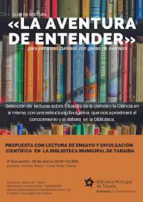 """Club de Lectura """"La aventura de entender"""""""