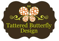 Tattered Butterfly Design