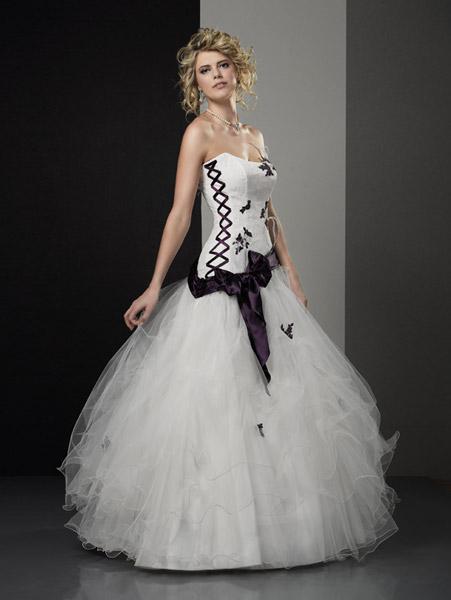 robes de mariage robes de soir e et d coration robe de mari e aurye mariages. Black Bedroom Furniture Sets. Home Design Ideas