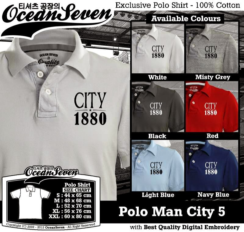 Kaos Polo Man City 5