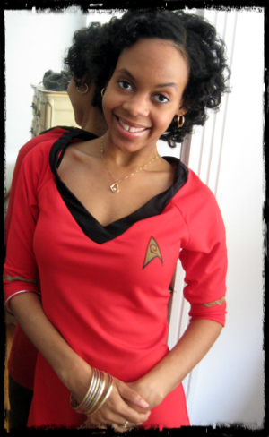 uhura the power of a female lieutenant guest - Uhura Halloween Costume