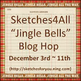 Sketches4 All Jingle Bells  Blog Hop
