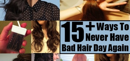 17 Ways To Never Have A Bad Hair Day Again