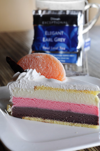 Layered Ice-cream cake