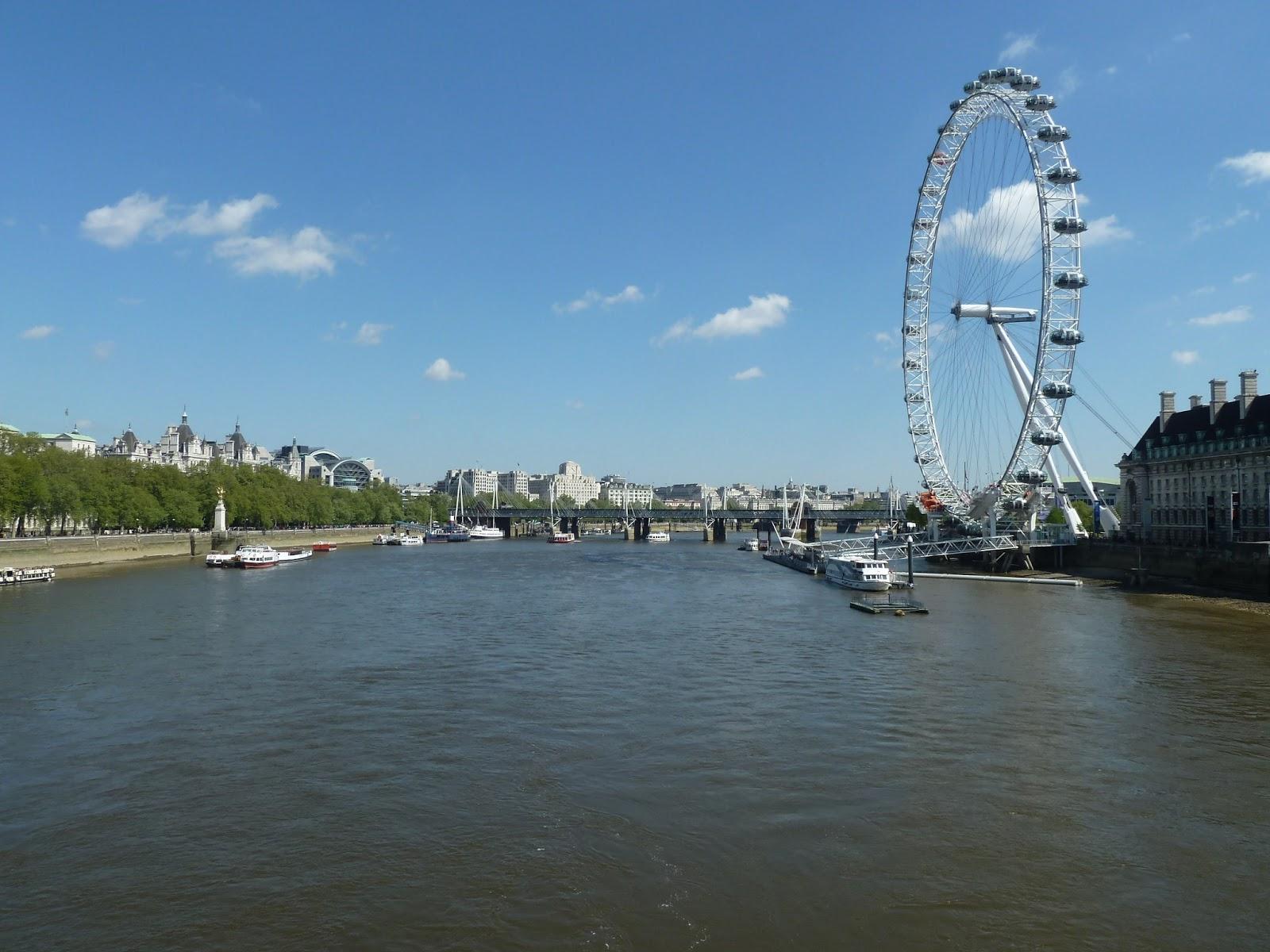 Westminster Bridge, London Eye