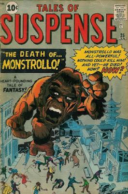 Tales of Suspense #25, Monstrollo