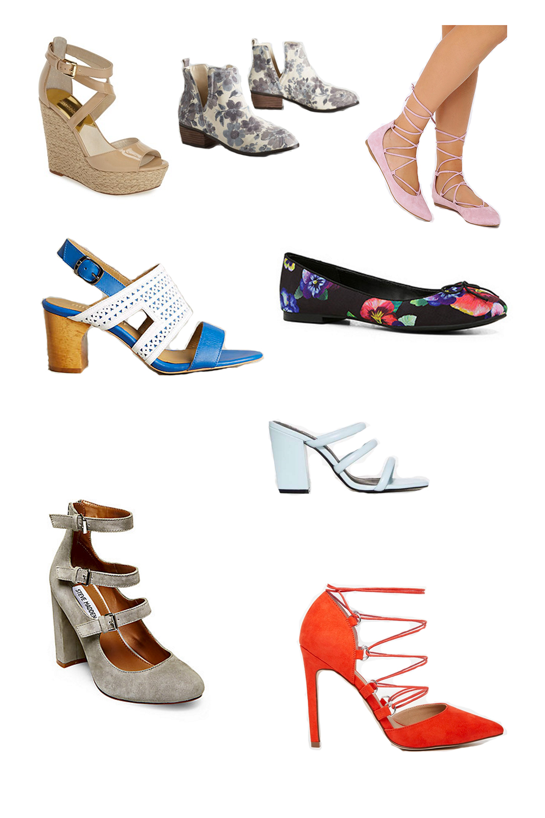 shoes, ASOS, Lulu's, Anthropologie, Steve Madden, Modcloth, ALDO, Nordstrom, accessories, fashion blogger, style blogger, fashion, style, spring style, spring fashion, Miami fashion blogger