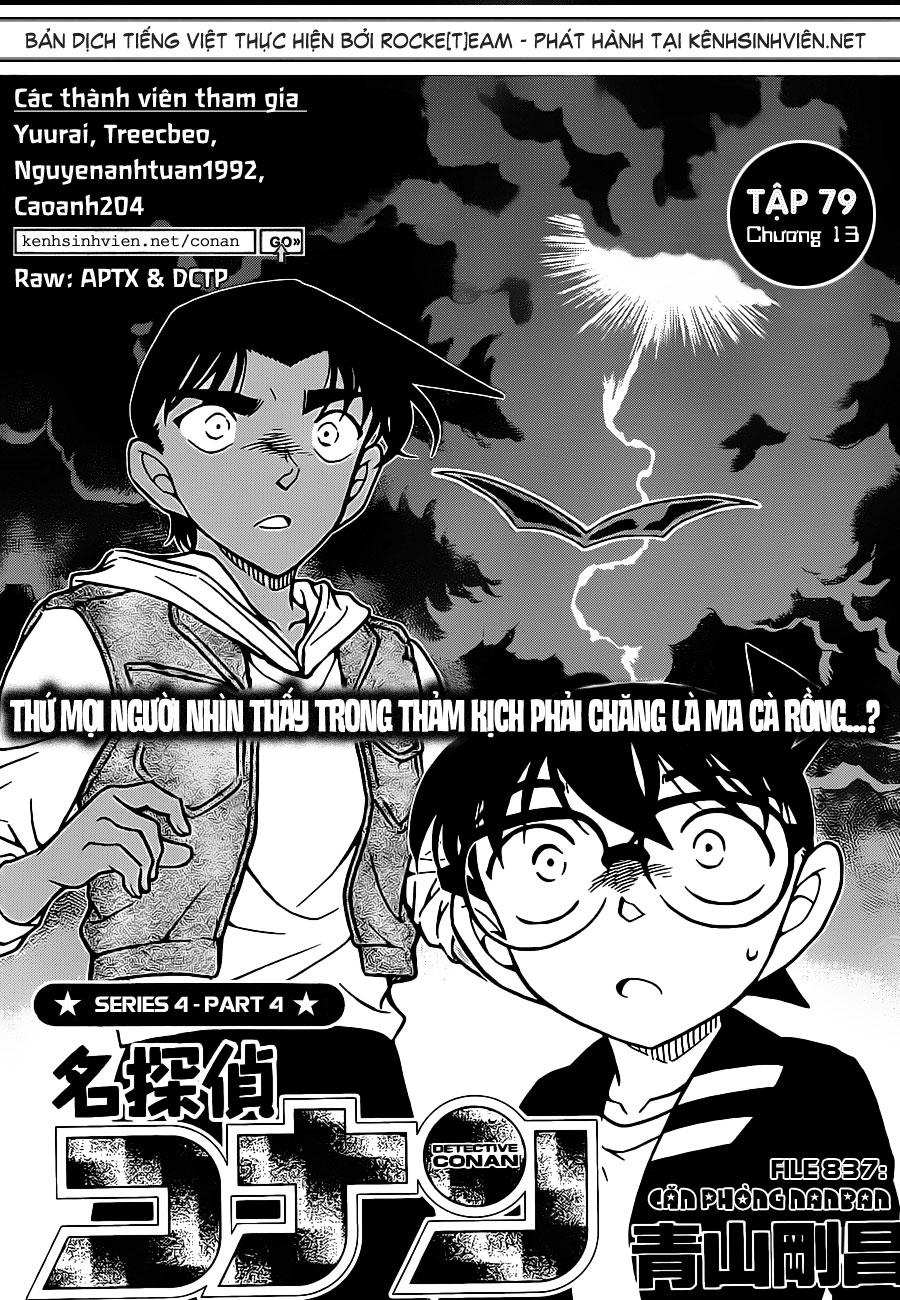 Detective Conan - Thám Tử Lừng Danh Conan chap 837 page 3 - IZTruyenTranh.com