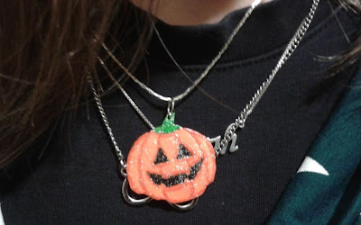 Dica de Tutorial: Colar de Abóbora de Halloween