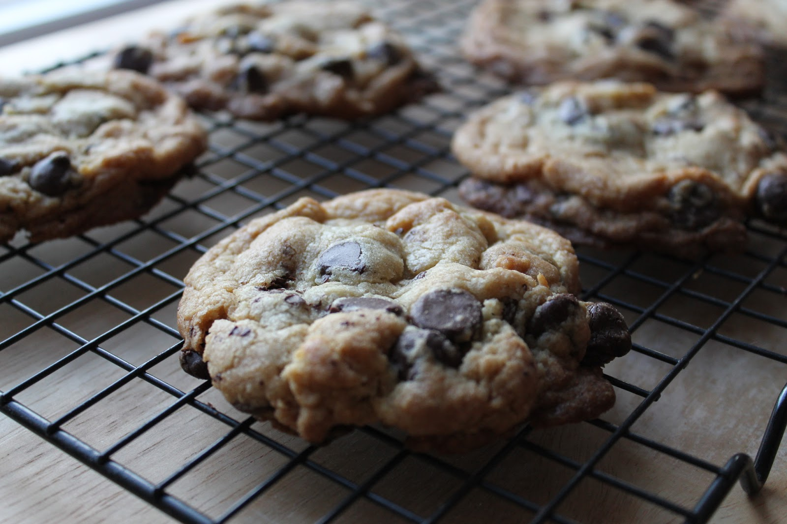 Life on Food: New York Times Chocolate Chip Cookies
