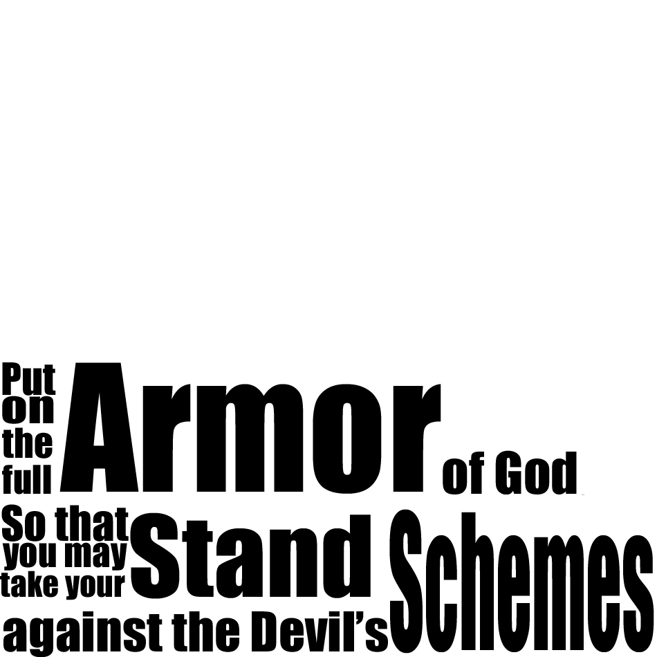 the thought box the armor of god
