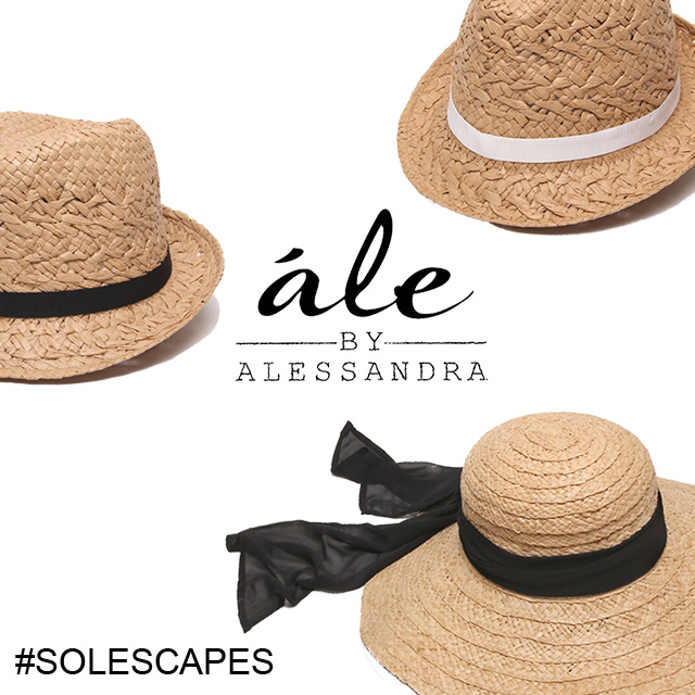 ále by Alessandra hat and bag collection